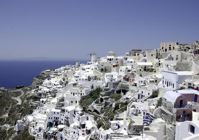 Una localidad en Grecia