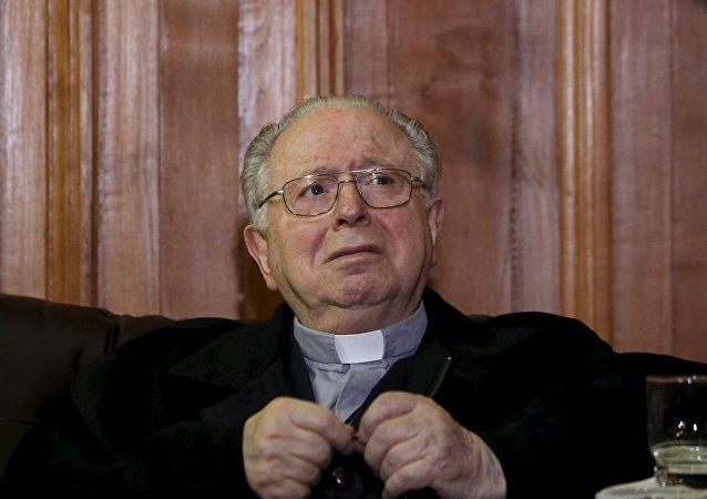 Fernando Karadima, sacerdote chileno acusado de los abusos sexuales a niños
