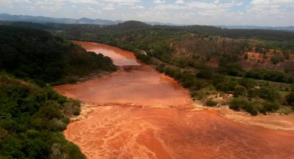 Río Doce en Brasil