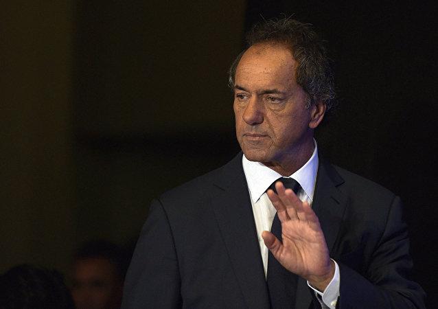 Daniel Scioli, el exgobernador de la provincia de Buenos Aires