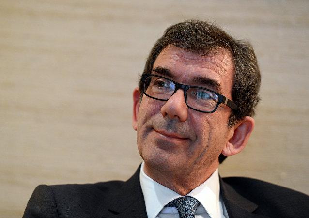 Jean-Maurice Ripert, embajador de Francia en Moscú