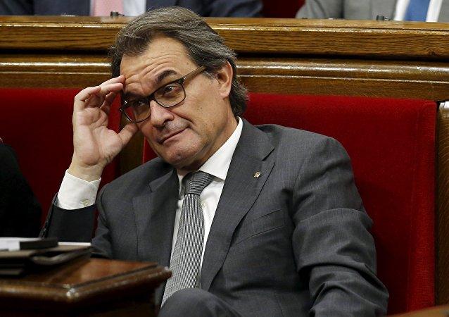 Artur Mas, el presidente en funciones del Gobierno de Cataluña