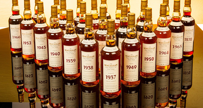 Colección de alcohol de The Macallan