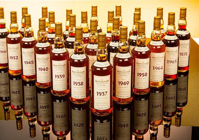 Colección de alcohol de The Macallan