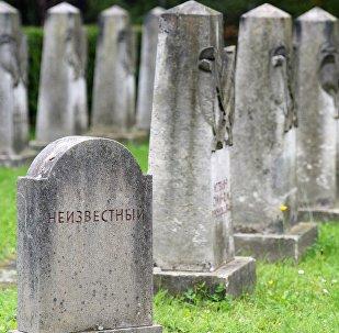 Un cementerio soviético en Alemania