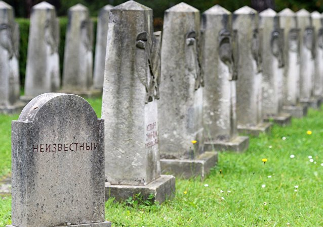 Cementerio de soldados soviéticos en Alemania