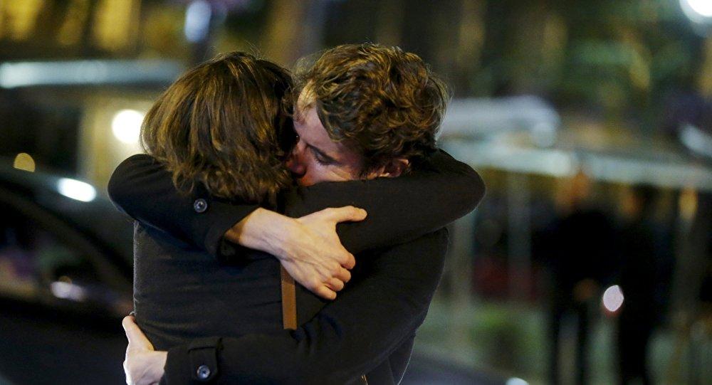 Un abrazo (imagen referencial)