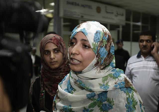 Tawakkul Karman, la premio Nobel de la Paz en 2011