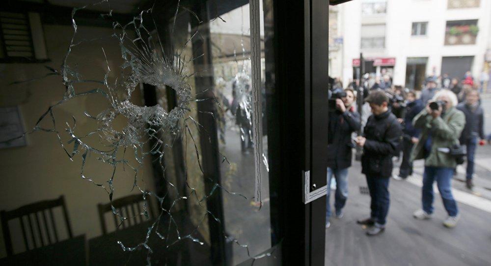 Lugar de los atentados el 13 de noviembre en París