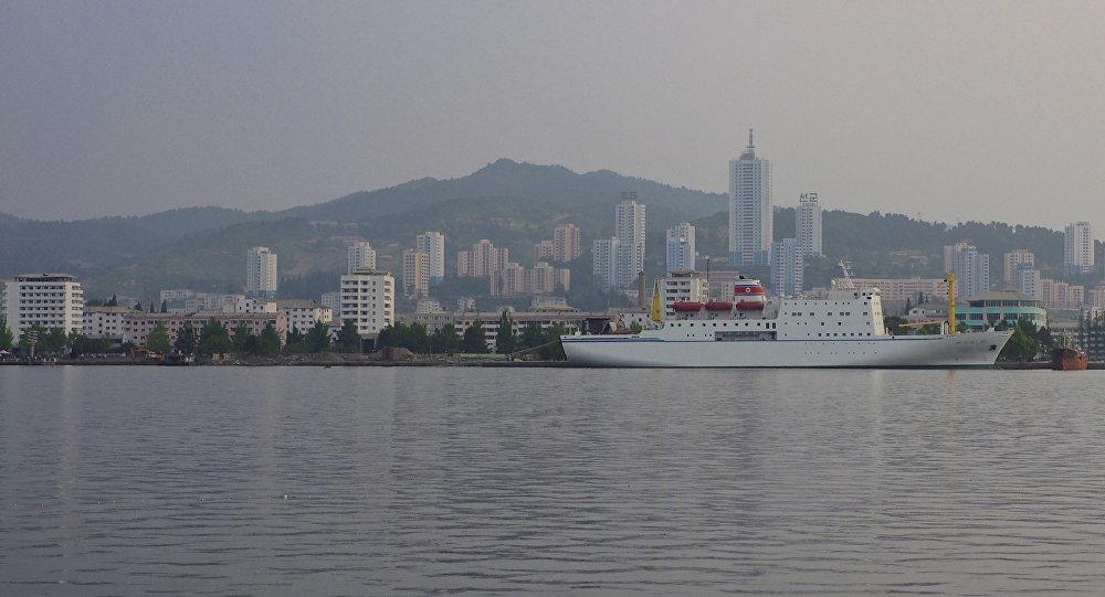 La ciudad de Wonsan