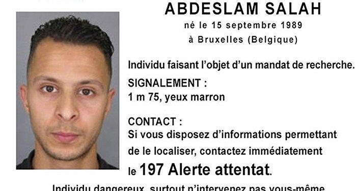 Abdeslam Salah, principal sospechoso de los ataques en París