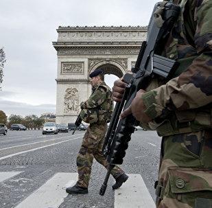 Soldados franceses (archivo)