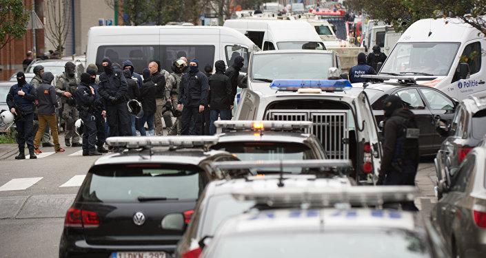 Operación policial en el distrito belga de Molenbeek