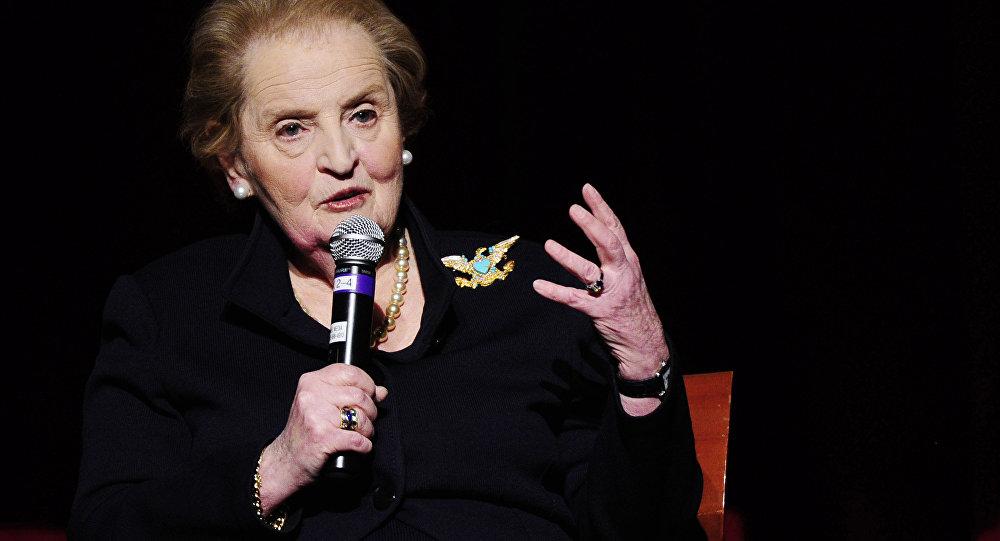 Madeleine Albright, exsecretaria de Estado de EEUU