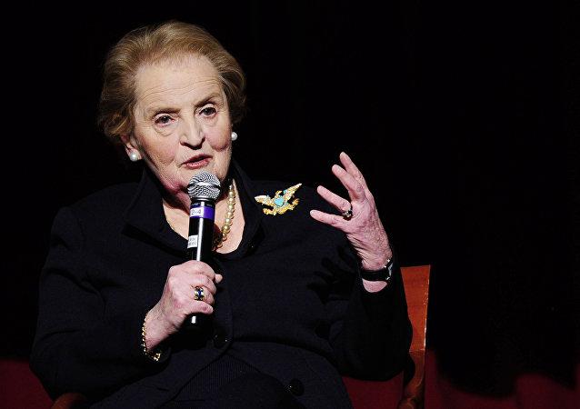 Madeleine Albright, ex secretaria de Estado de EEUU
