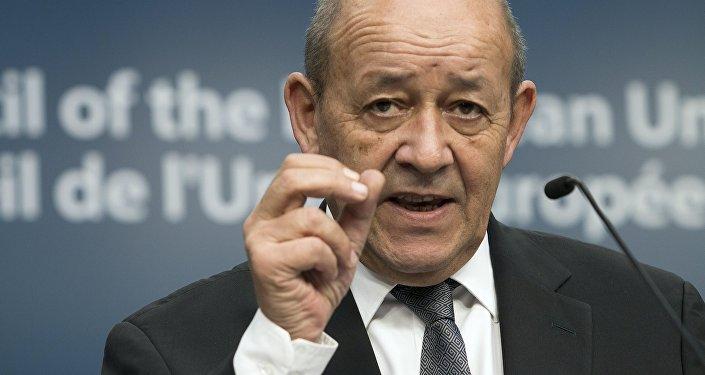 Jean-Yves Le Drian, ministro de Exteriores de Francia