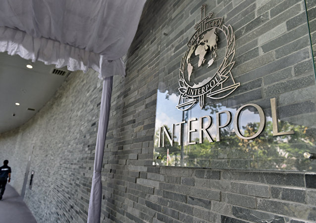 Logo de Interpol