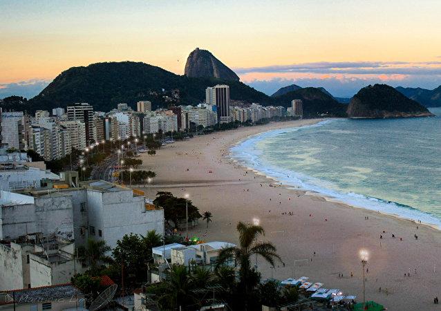 La playa de Copacabana