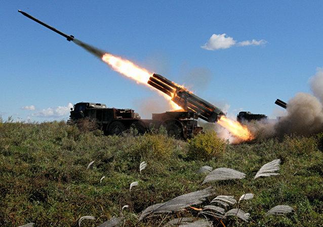 Rusia celebra el Día de las Tropas de Misiles y Artillería