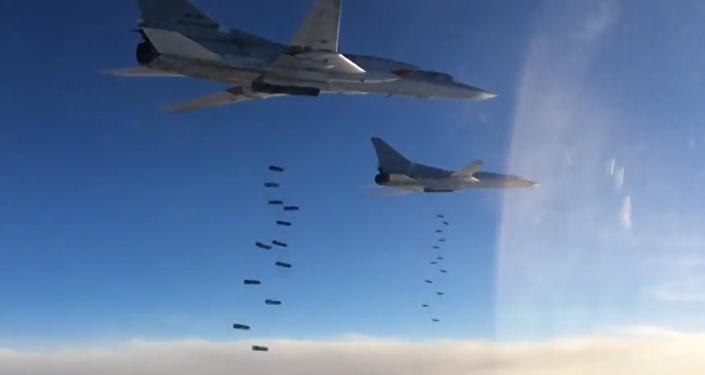 Ataques aéreos de bombarderos Tu-22M3 en Siria