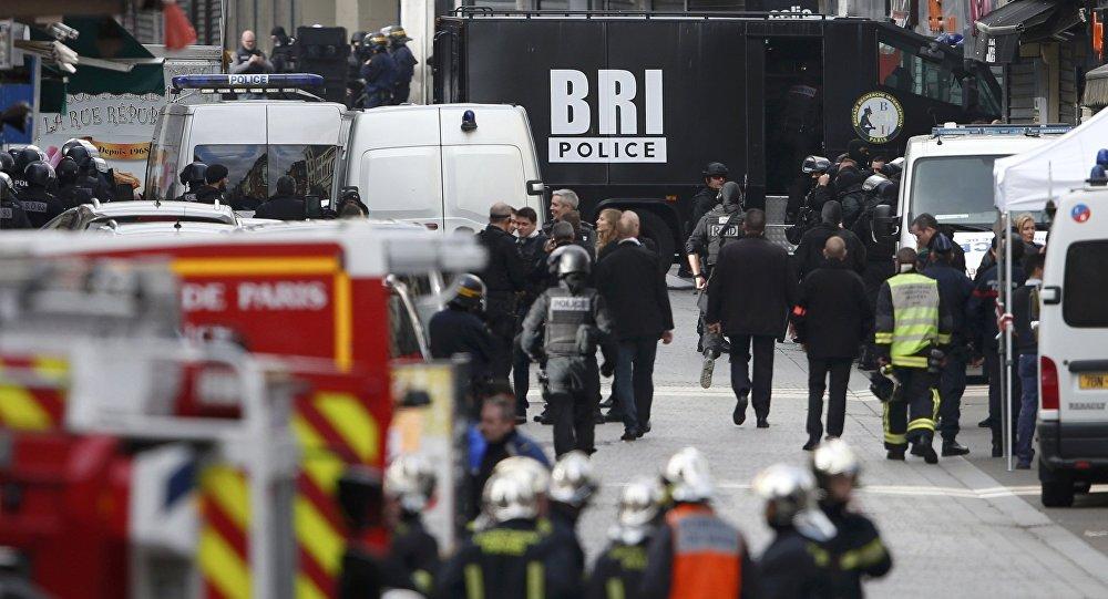 Operación policial en Saint-Denis