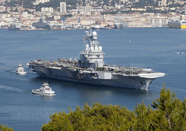 Charles de Gaulle, portaaviones francés