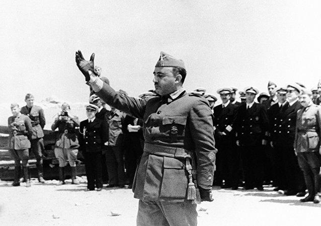 Francisco Franco, dictador español (archivo)