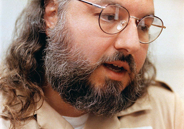 Foto de Jonathan Pollard, espía israelí condenado a cadena perpetua, hecha en 1998