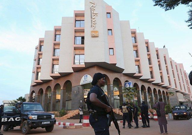 Hotel Radisson Hotel Bamako, donde tuvo lugar una operación especial para liberar a los rehenes