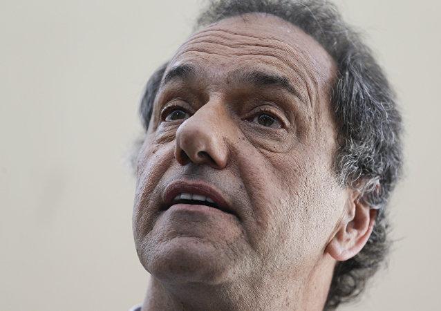 Daniel Scioli, diputado argentino (archivo)