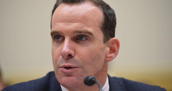 Brett McGurk, enviado de EEUU para la coalición contra Daesh