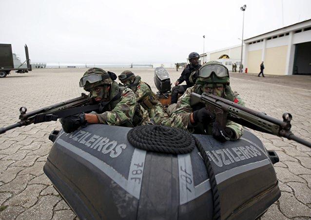 Soldados de la OTAN participan en las maniobras Trident Juncture