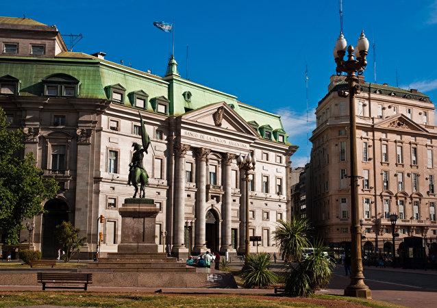 Edificio del Banco de Argentina en Buenos Aires