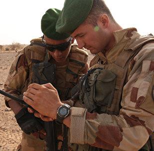 Militares franceses en Malí (archivo)