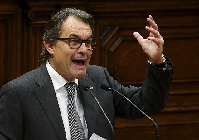 Artur Mas, el presidente en funciones del Gobierno catalán