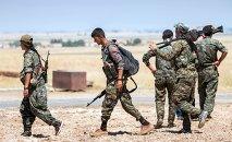 Militantes kurdos