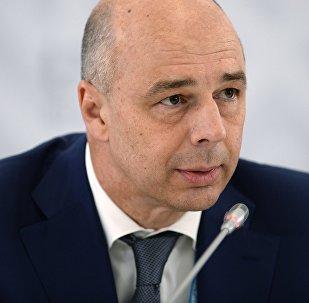 Antón Siluánov, ministro de Finanzas de Rusia, el 8 de julio, 2015