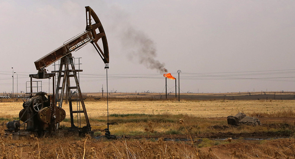 Yacimiento de petróleo en Siria