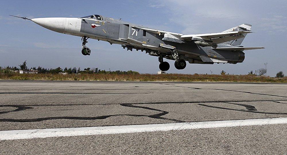 Bombardero ruso Su-24 (archivo)