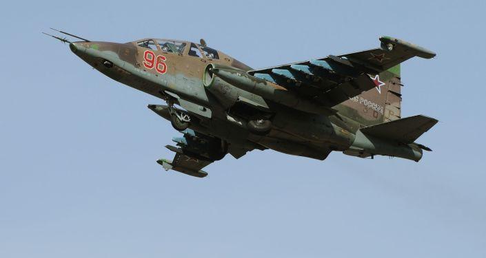Caza Su-25SM