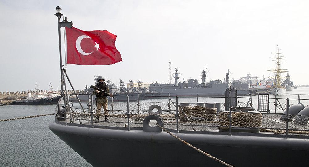 Un buque turco (imagen referencial)