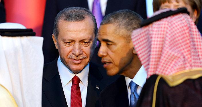 Presidente de Turquía, Recep Tayyip Erdogan, y presidente de EEUU, Barack Obama
