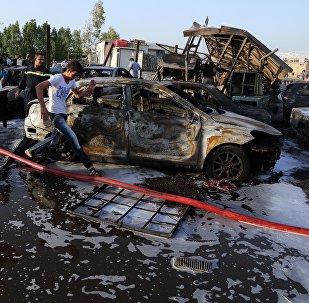 Ataque suicida en Irak en agosto de 2015