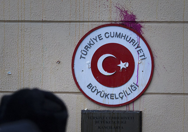 Embajada de Turquía en Moscú, Rusia