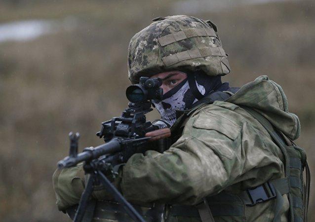 Militar ucraniano (archivo)