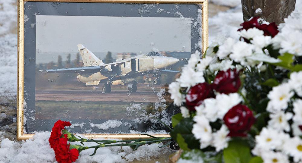 Llega a Ankara el avión con cuerpo del piloto del Su-24 ruso