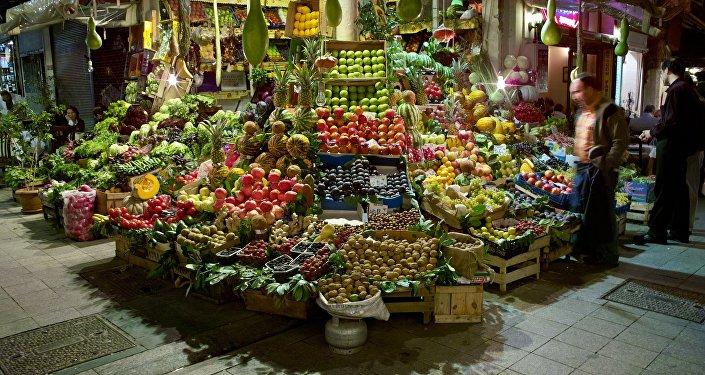 Frutas y verduras turcas