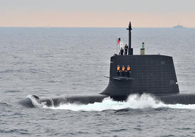 Submarino Kenryu japonés