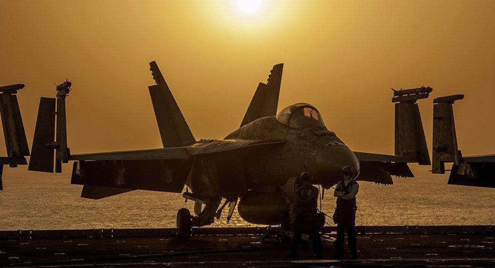 Caza de la coalición internacional contra el Estado Islámico