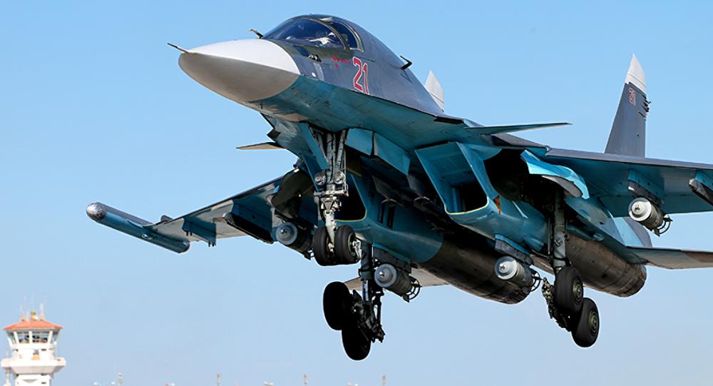 Su-34 en Siria